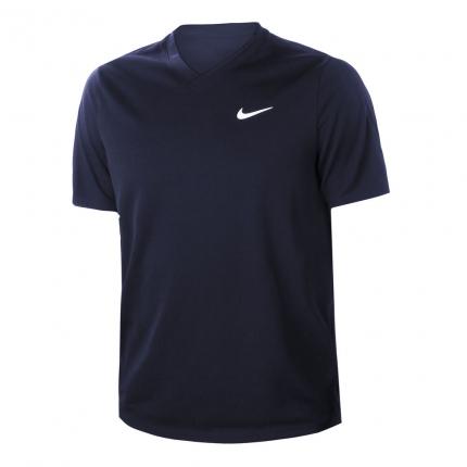 Pánské tenisové tričko Nike Court Victory Dry T-Shirt, obsidian