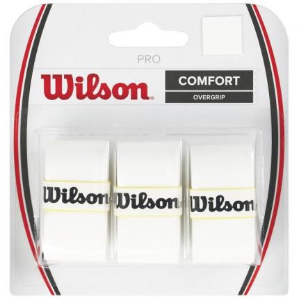 Omotávky Wilson Pro Overgrip 3 ks, white