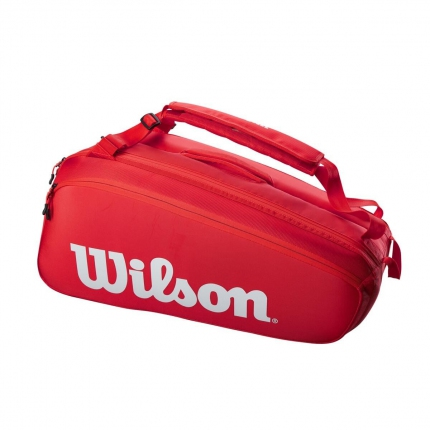Tenisová taška Wilson Super Tour 9, red