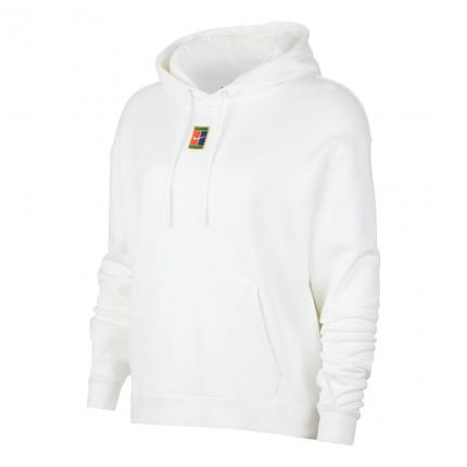 Dámská tenisová mikina Nike Court Heritage Hoody, white