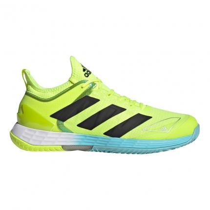 Pánská tenisová obuv Adidas Adizero Ubersonic 4, neon yellow