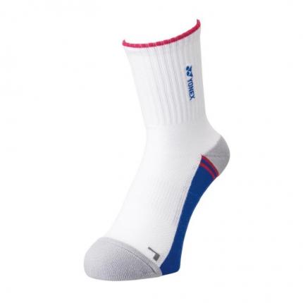Ponožky Yonex 19151, balení 1 pár, white/blue