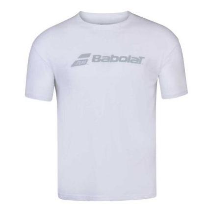 Pánské tenisové tričko Babolat Exercise Tee, white