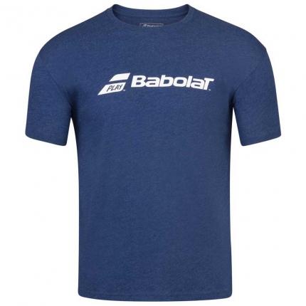 Pánské tenisové tričko Babolat Exercise Tee, blue