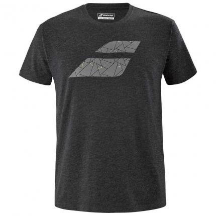 Pánské tenisové tričko Babolat Exercise Big Flag Tee, black