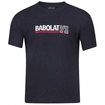 Pánské tenisové tričko Babolat Exercise Vintage Tee, black