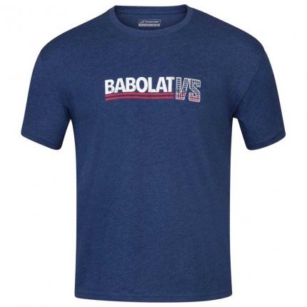 Pánské tenisové tričko Babolat Exercise Vintage Tee, blue