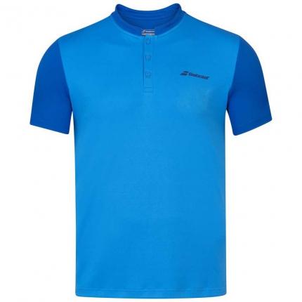 Pánské tenisové tričko Babolat Play Polo, blue aster