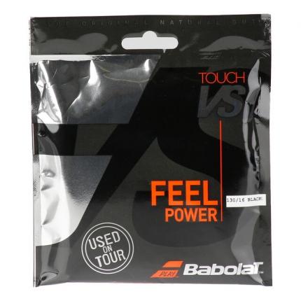 Tenisový výplet Babolat Touch VS 12m, black