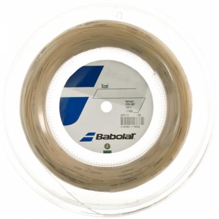 Tenisový výplet Babolat Xcel 200m, natural