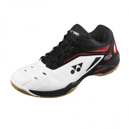 Halová obuv Yonex Power Cushion 65 Z Men, white/red