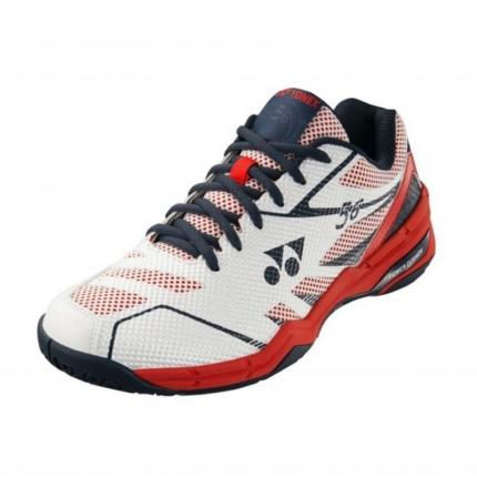Halová obuv Yonex SHB-56, white/red