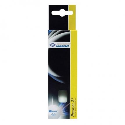 Míčky na stolní tenis Donic Prestige 2*, 3 ks, white