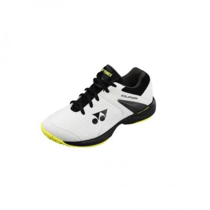 Dětská tenisová obuv Yonex PC Eclipsion 2 Junior, white/lime