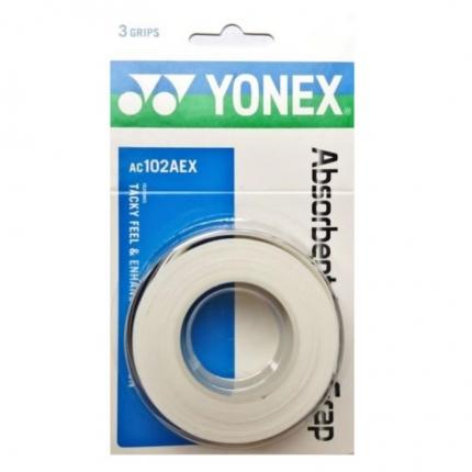 Omotávky Yonex Absorbent 3 ks, white