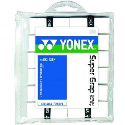 Omotávky Yonex Super Grap 12 ks, white