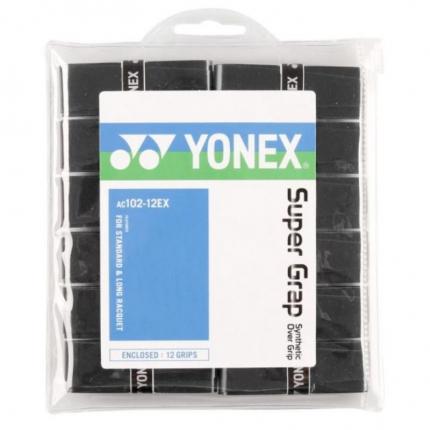 Omotávky Yonex Super Grap 12 ks, black