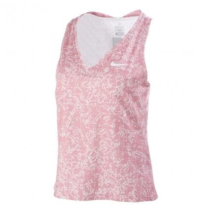 Dámské tenisové tílko Nike Court Victory Print Tank-Top, elemental pink