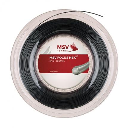 Tenisový výplet MSV Focus Hex 200m, black