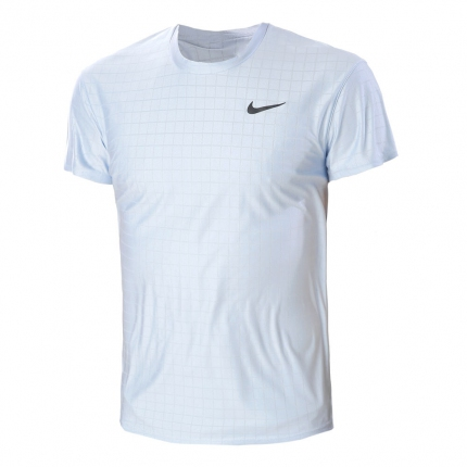 Pánské tenisové tričko Nike Court Dri-Fit Advantage T-Shirt, lt armory blue
