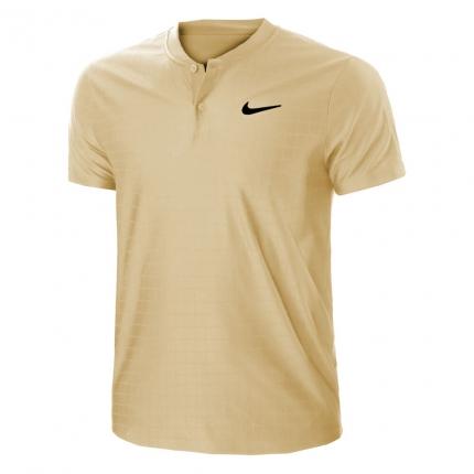 Pánské tenisové tričko Nike Court Dri-Fit Advantage Polo, parachute beige
