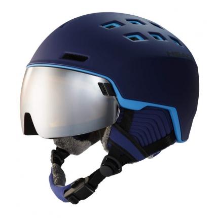 Lyžařská helma Head Radar 2019/20, blue/sky