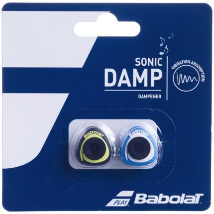 Tenisové vibrastopy Babolat Sonic Damp, blue/yellow
