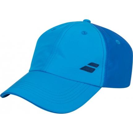 Dětská tenisová kšiltovka Babolat Basic Logo Cap Junior, blue aster