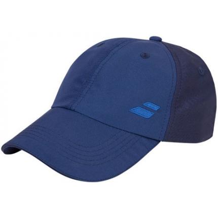 Dětská tenisová kšiltovka Babolat Basic Logo Cap Junior, blue