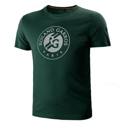 Pánské tenisové tričko Lacoste Logo T-Shirt, bottle green