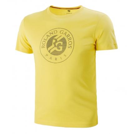 Pánské tenisové tričko Lacoste Logo T-Shirt, sunny/navy blue
