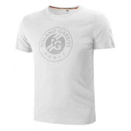 Pánské tenisové tričko Lacoste Logo T-Shirt, white