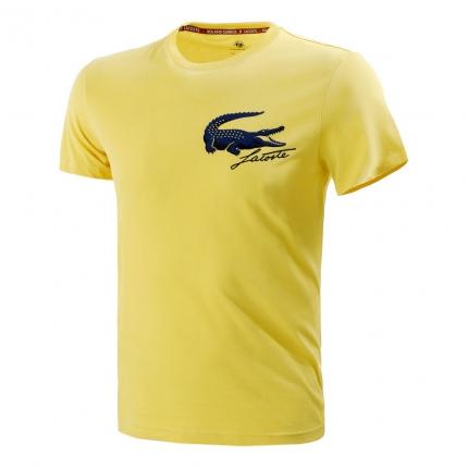 Pánské tenisové tričko Lacoste Logo T-Shirt, sunny