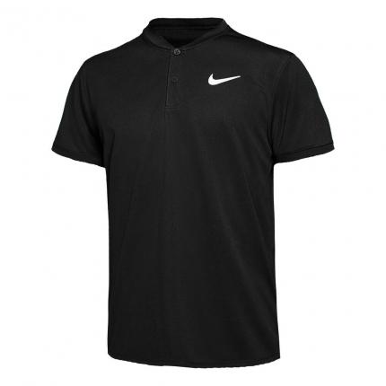 Pánské tenisové tričko Nike Court Dry Blade Polo, black