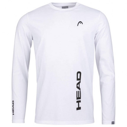 Pánské tričko Head Promo LS Men, white
