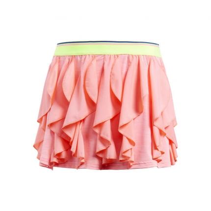 Dětská tenisová sukně Adidas Frilly Skirt, chalk coral