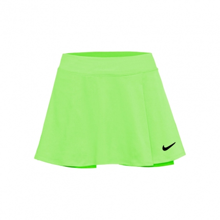 Tenisová sukně Nike Dri-Fit Victory Flouncy Skirt, lime glow