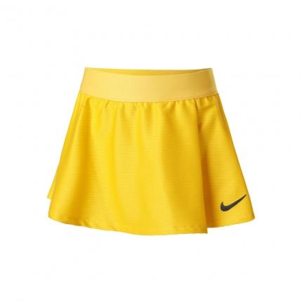 Dětská tenisová sukně Nike Dri-Fit Victory Flouncy Skirt, university gold