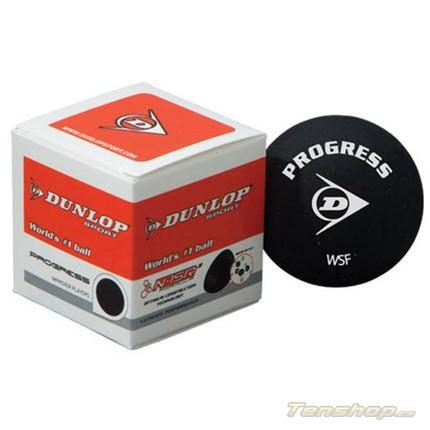 Squashový míč Dunlop Progress, bez tečky